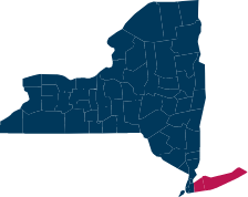 Region Long Island Map